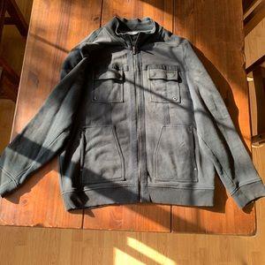 XL Calvin Klein zip up sweater